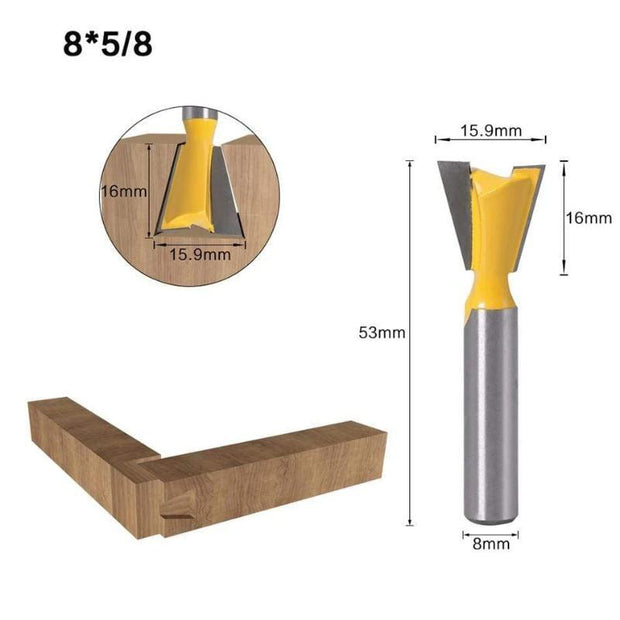 Dovetail Router Bit - Cosmas Collections