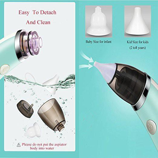 Electric Nasal Aspirator USB Rechargeable - Cosmas Collections
