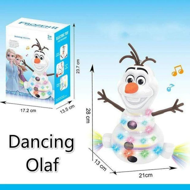Electric Dancing Music Snowman Toy - Cosmas Collections