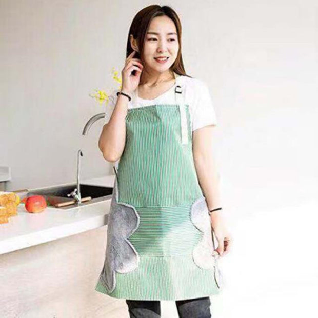 Erasable Hand Waterproof Kitchen Apron - Cosmas Collections