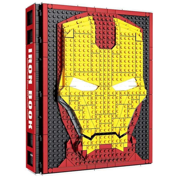 Iron Man Blocks Book - Cosmas Collections