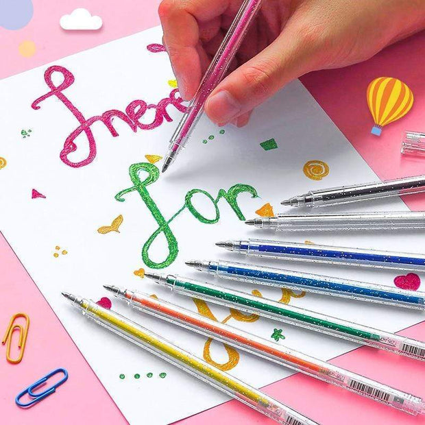 LSZDP Gel Pens for Adult Coloring Books - Cosmas Collections