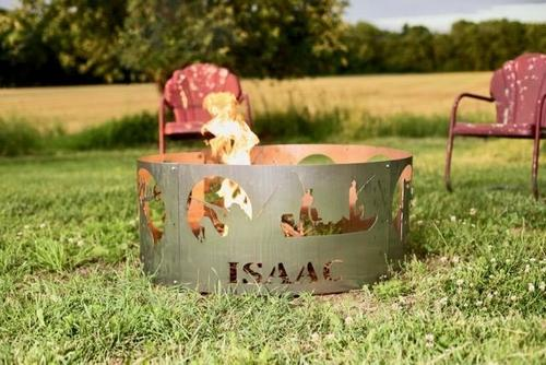 Personalized Fire Pit Ring - Cosmas Collections