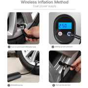 Portable Electric Tire Inflator - Cosmas Collections