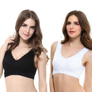 Seamless Push-Up Padded Fitness Bra - Cosmas Collections