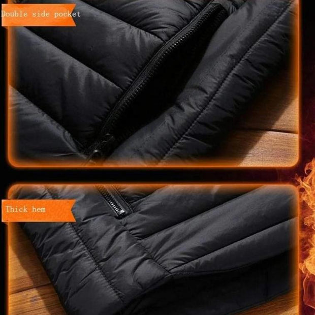 Smart Thermal Heating Jacket - Cosmas Collections
