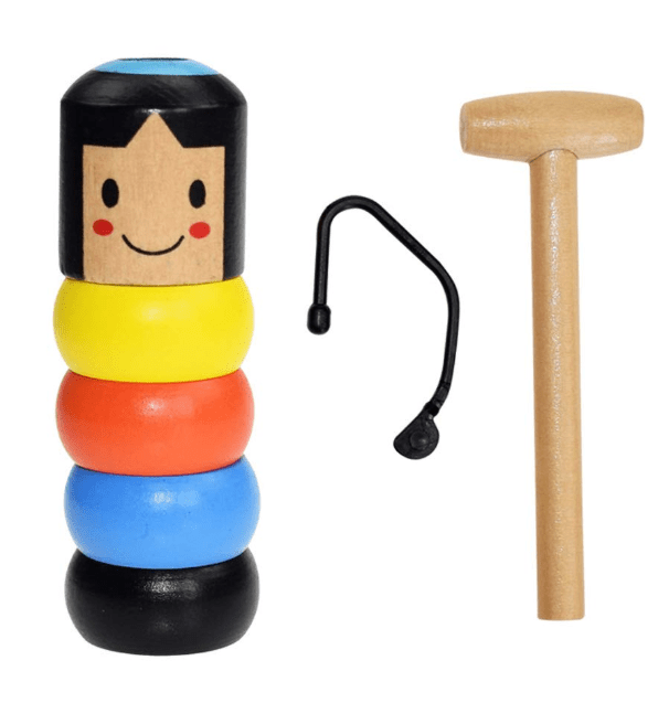 Unbreakable Wooden Man Magic Toy - Cosmas Collections