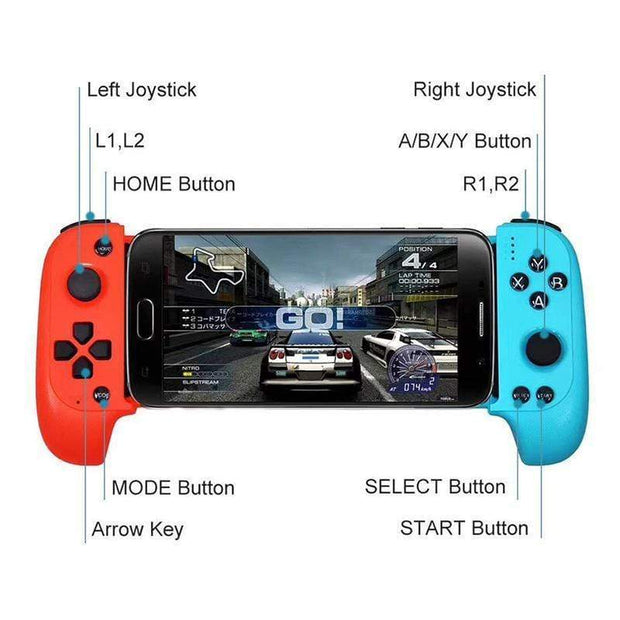 Universal Telescopic Bluetooth Gamepad Joystick - Cosmas Collections