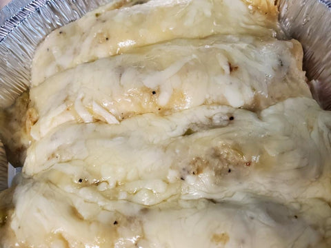 Four Seafood Enchiladas - COOKED DINNER