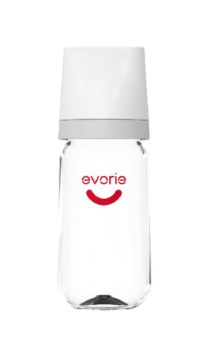 Tritan Wide-neck Baby Milk Bottle 240mL from Evorie