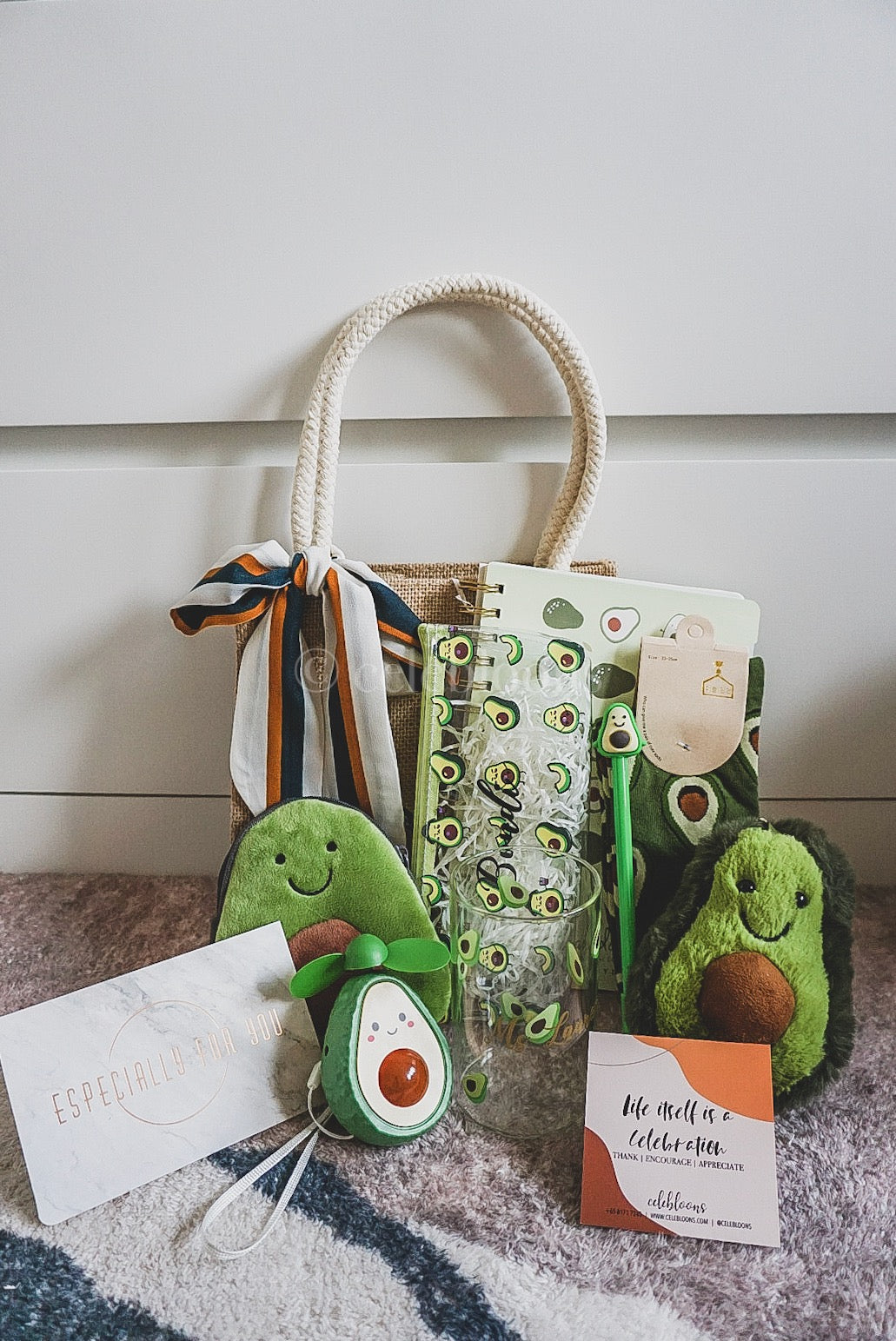 Avocado Special!: All-in Jute Bag Set