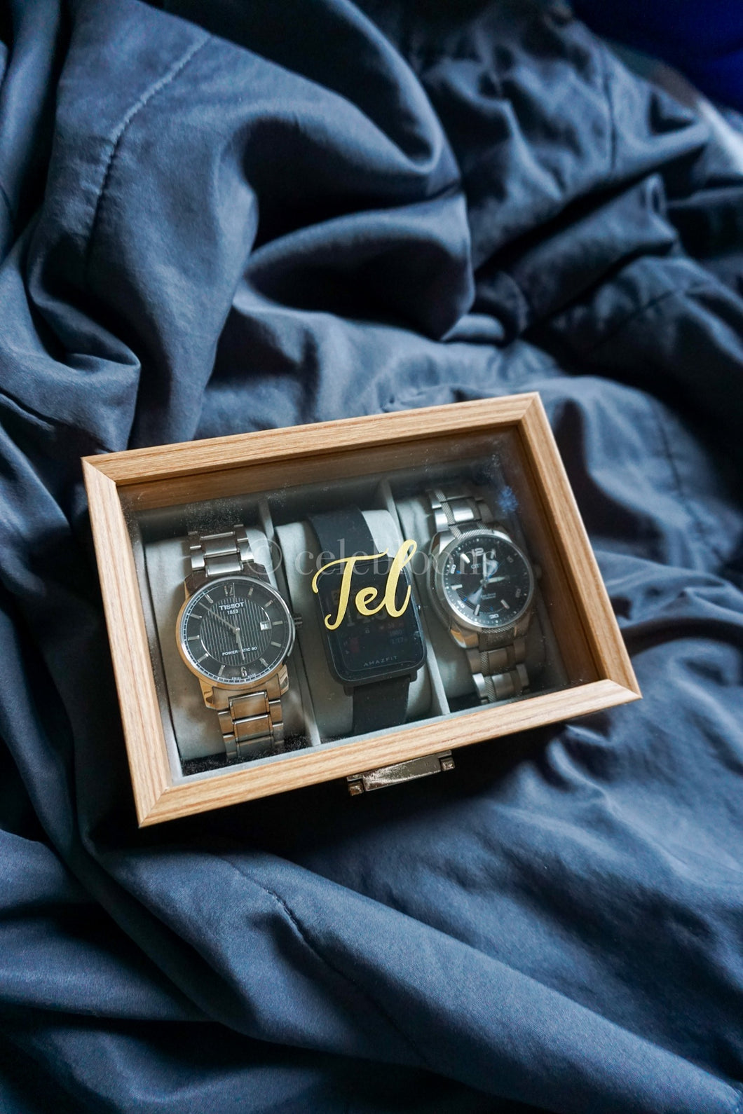 Customised Wooden Watch Holder