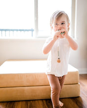 Load image into Gallery viewer, Glitter & Spice Pacifier Clip (Sage Green)