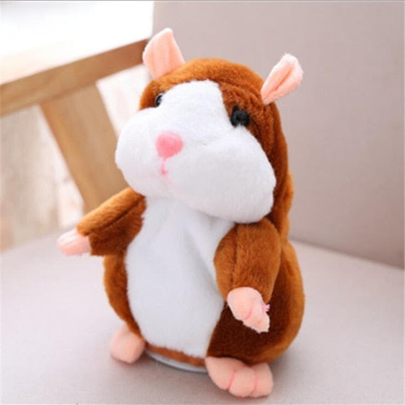 Cute Hamster Falante Mouse Pet Plush Toy