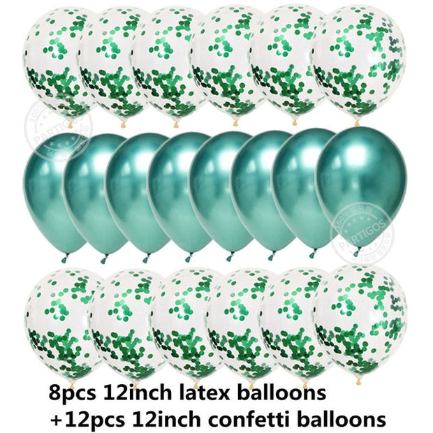 Balloons Confetti Set for all Parties