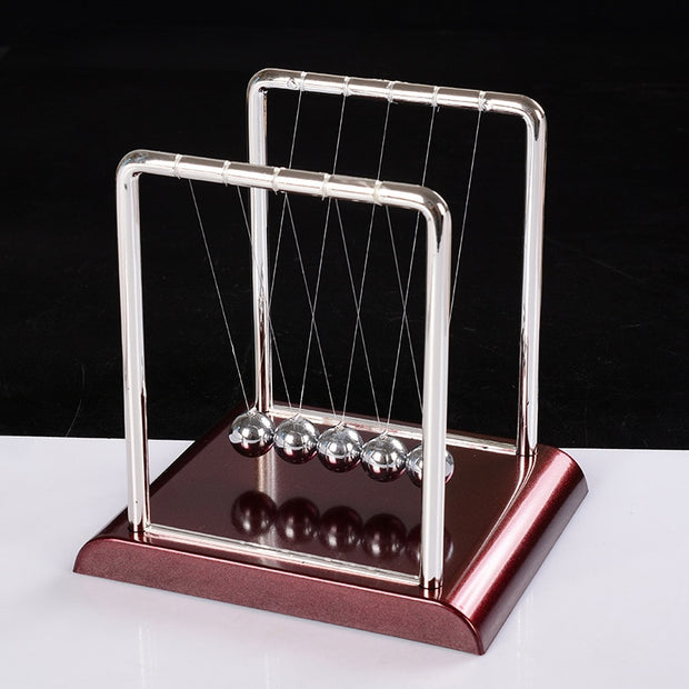Funny Newtons Cradle Steel Balance Ball Physics Science Pendulum Toys