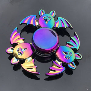 Beautiful Rainbow Metal Hand Spinner Focus Toy Spinner