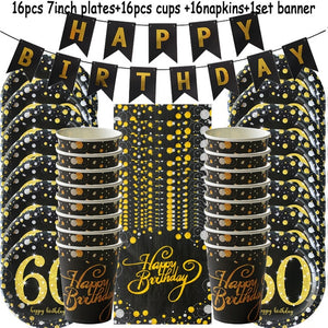 Funny Anniversary Disposable Tableware set