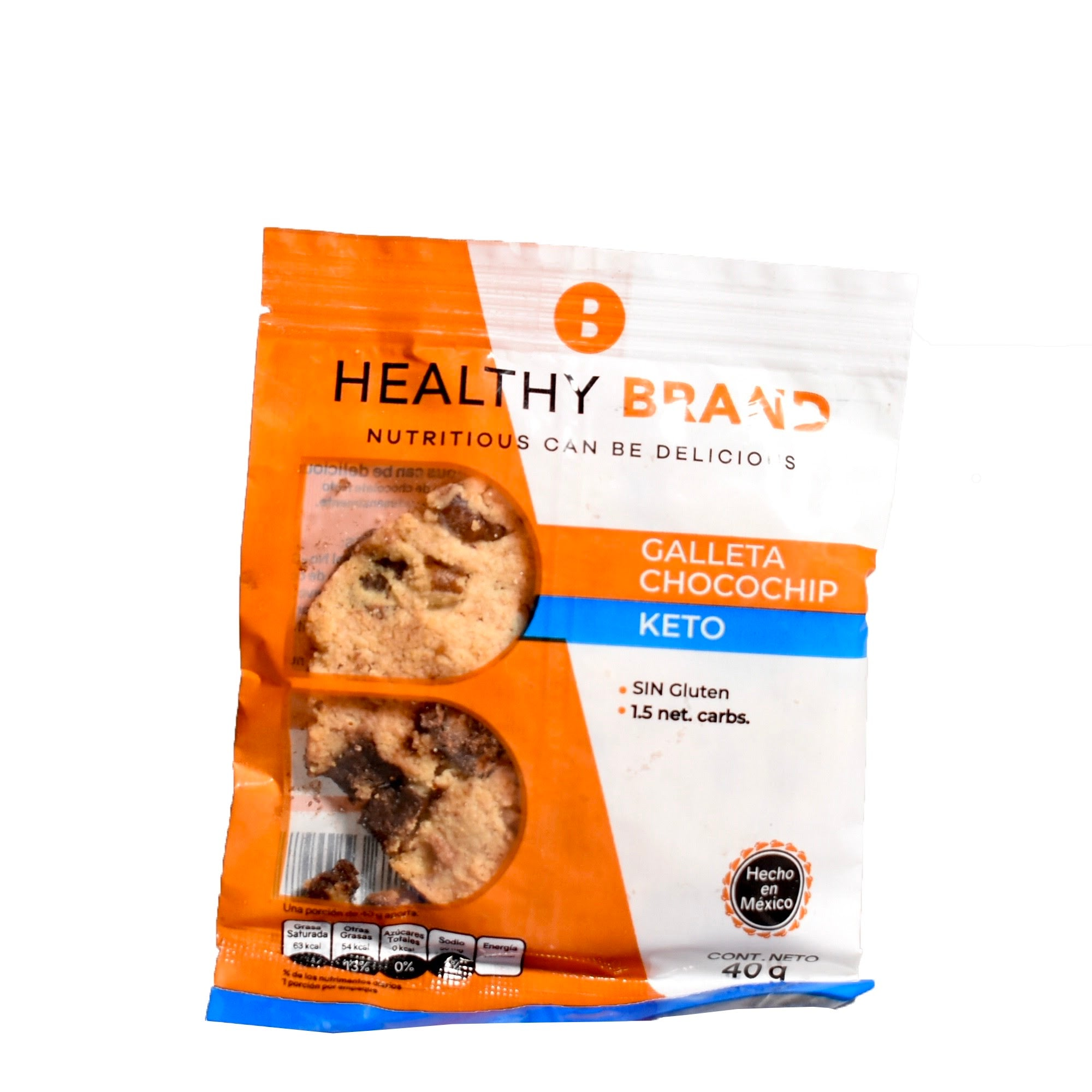 Galleta Chocochip / Healthy Brand