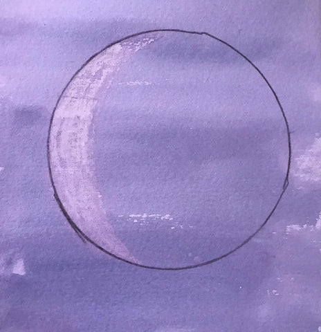 A moon painting