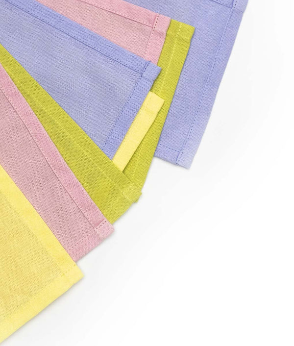 cotton bunting in pastel shades