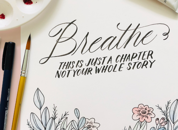 Breath. This is just a chapter. Not your whole story.