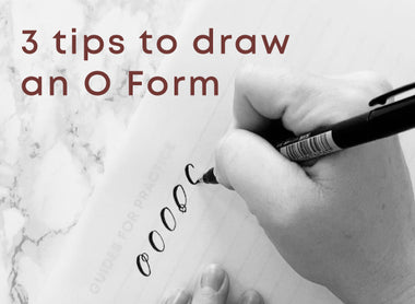 3 Tips for Drawing the perfect O Form