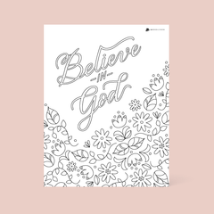 FREE January Coloring Page
