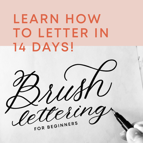 Learn how to letter in 14 days!