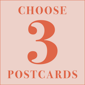Choose 3 Dear Mama postcards