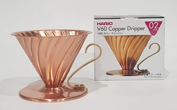 cosmorex coffee roaster canberra alternative brewing HARIO V60 copper