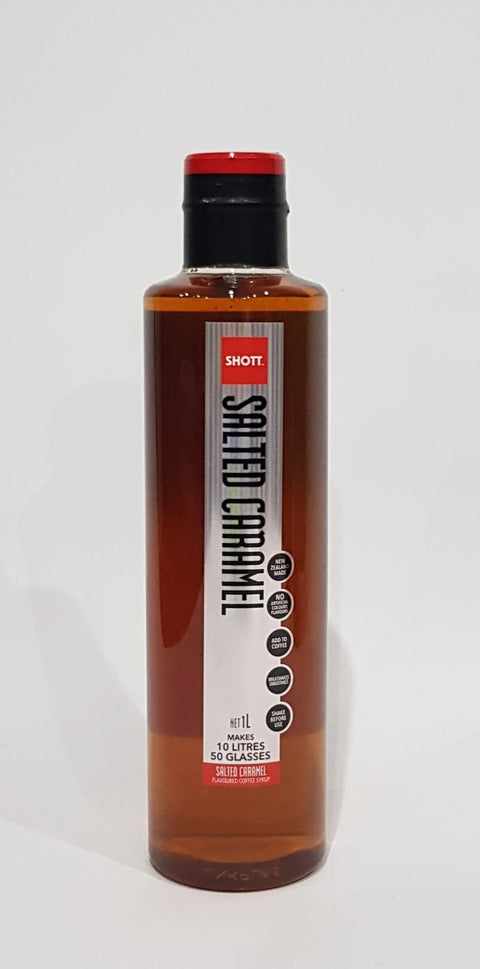 cosmorex coffee roaster  canberra cafe related SHOTT SYRUP 1LT salted caramel