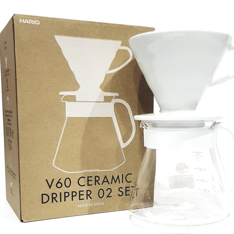 cosmorex coffee roaster canberra alternative brewing HARIO V60 CERAMIC POUR OVER SET