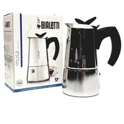 coffee roaster Canberra bialetti musa stainless steel stove top  4 cup