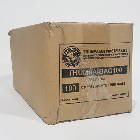 coffee roaster Canberra thumpa bag knocktube  bag liner