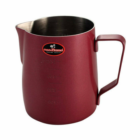 Milk Jug 950ml Red - Tiamo
