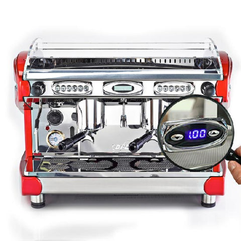 BFC Lira Espresso Coffee Machine - 2 group
