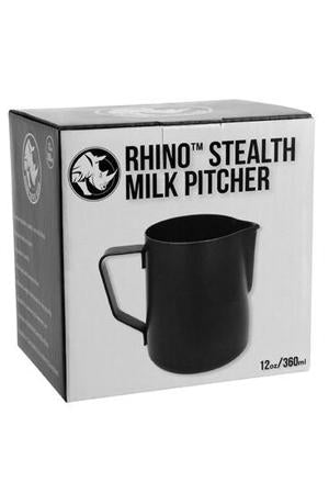 RHINOWARES STEALTH MILK JUG 360ML
