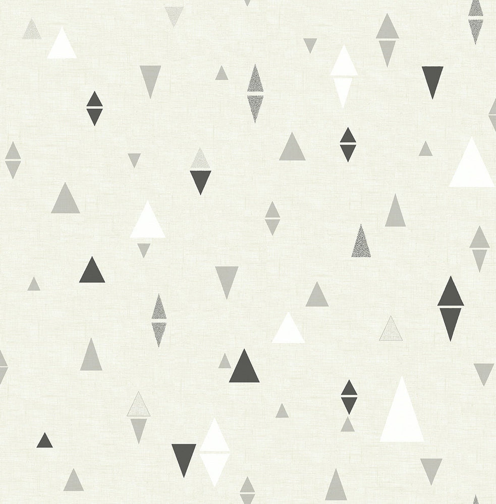 SD00206DS Aviston mini triangles geometric wallpaper from Say Decor