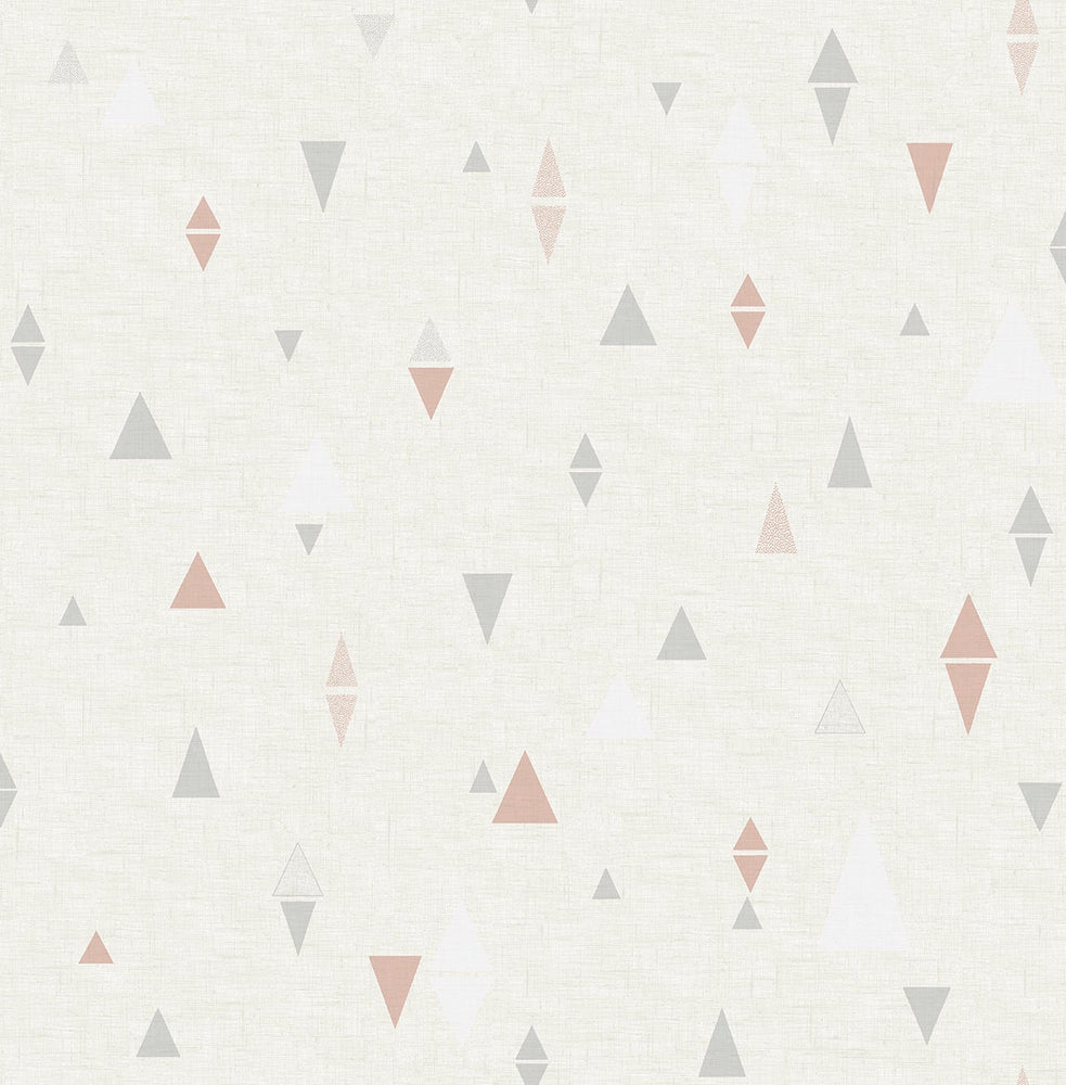 SD10206DS Aviston mini triangles geometric wallpaper from Say Decor