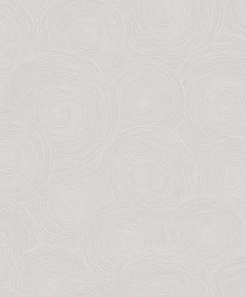 1303301 textured ring geometric wallpaper from the Black and White collection by Etten Gallerie