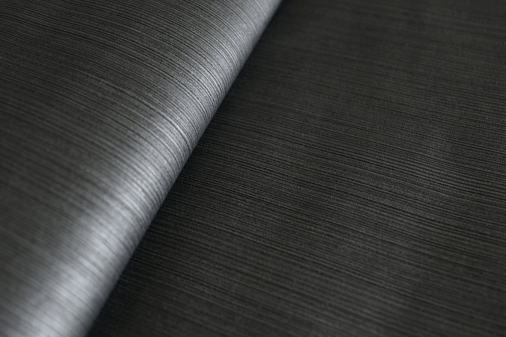 1430520 glittered silver stripe wallpaper roll from the Black & White collection by Etten Gallerie