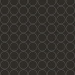 Etten Gallerie Black & White Small Polka Dot Ring Geometric Wallpaper