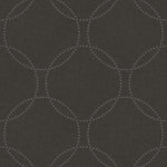 1821000 polka dot geometric wallpaper from the Black & White wallpaper collection by Etten Gallerie