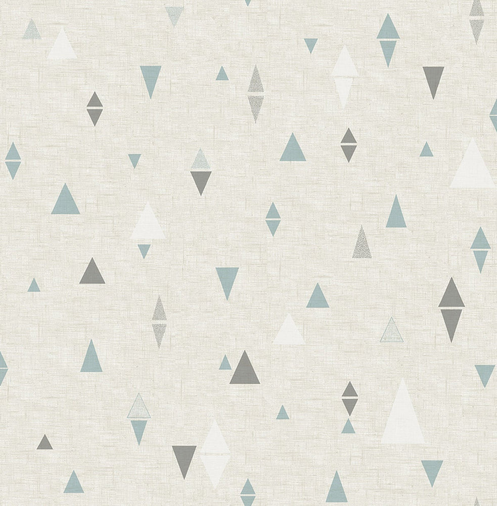 SD20206DS Aviston mini triangles geometric wallpaper from Say Decor