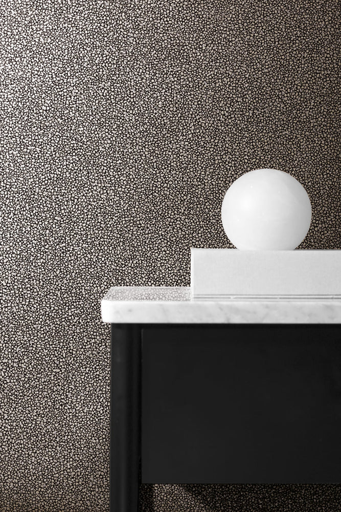 2231610 glitter mica faux wallpaper decor from the Essential Textures collection by Etten Gallerie