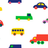Marimekko Volume 5 Boboo Kids Colorful Car Nursery Wallpaper by Janelli and Volpi