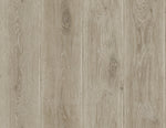 Rustic weathered wood plank faux wallpaper