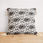 Arianna Hand Woven Cotton Throw Pillow