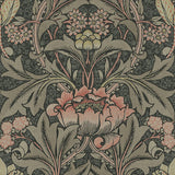 BM60100 Morris flower arts and crafts wallpaper from Say Decor